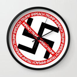 Anti President Wall Clock