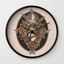 Botanica Wall Clock