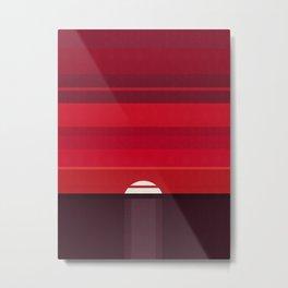 Geimetric and minimalist landscape 02 Metal Print