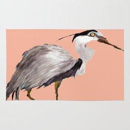 Cream Heron Rug