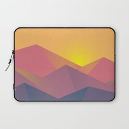 graphic mountains Laptop Sleeve