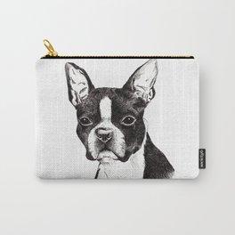Boston Terrier Portrait Carry-All Pouch