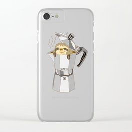 Slopresso Clear iPhone Case