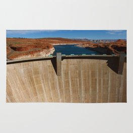 Glen Canyon Dam and Lake Powell Rug