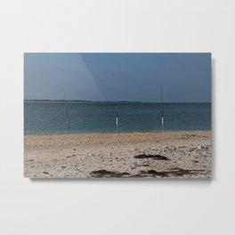 Gone Fishing on Boca Grande Metal Print