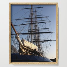 The Cutty Sark Clipper Serving Tray