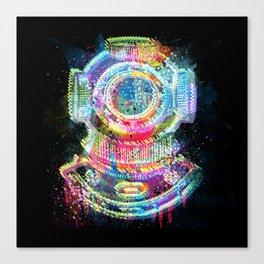 The Diver Canvas Print