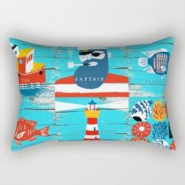 captain Rectangular Pillow