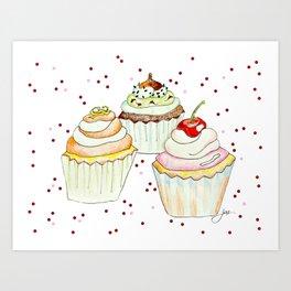 Sprinkles Bakery Art Print