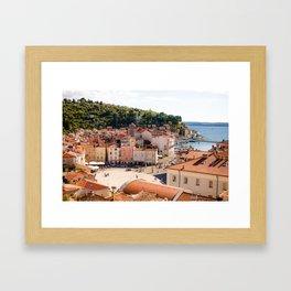 Mediterranean Summer Framed Art Print