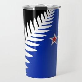 Proposed new national flag design for New Zealand Travel Mug