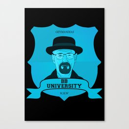 Breaking Bad University Canvas Print