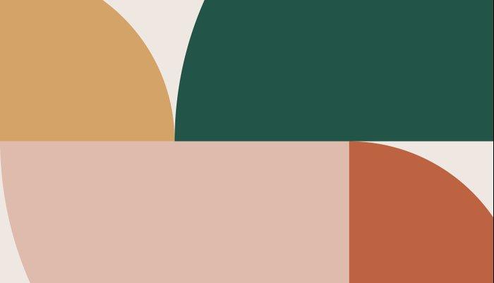 Abstract Geometric 11 Pillow Sham