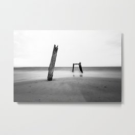Cats Bay Metal Print