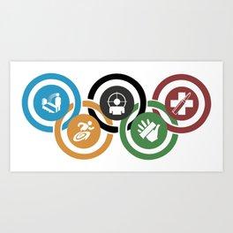 Zombie rings! Art Print