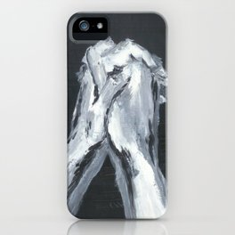 Abstract Prayer by Robert S. Lee iPhone Case