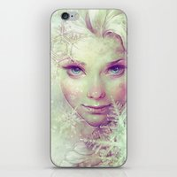 elsa iPhone & iPod Skins featuring Elsa by Anna Dittmann