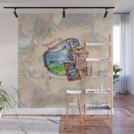 Language of Light Workshop Wall Mural