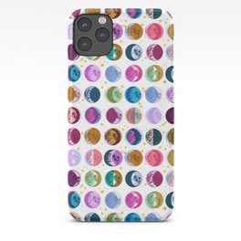 OFFSET MOON PHASES iPhone Case