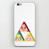 triforce iPhone & iPod Skins featuring triforce! by Spencer Duffy