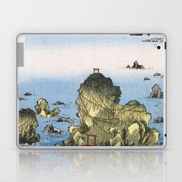 Hiroshige - 36 Views of Mount Fuji (1858) - 27: Futami Bay in Ise Province Laptop & iPad Skin