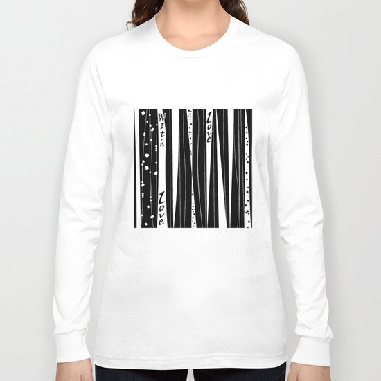 With love . Long Sleeve T-shirt