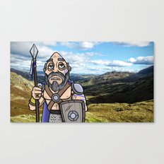 Carlin the Caledonian Canvas Print