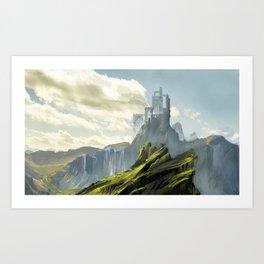 castle III Art Print