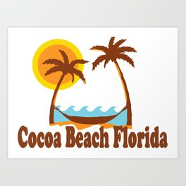 Cocoa Beach - Florida. Art Print