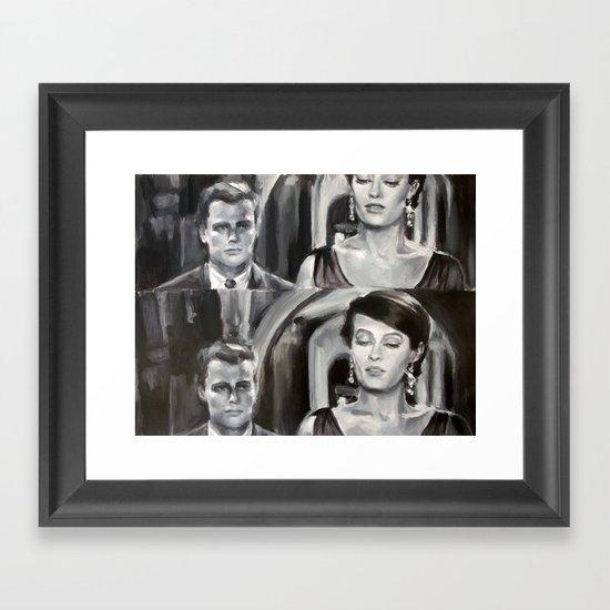 Le rêve de X Framed Art Print