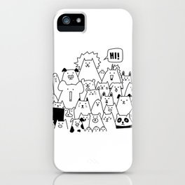 Oh Hi iPhone Case