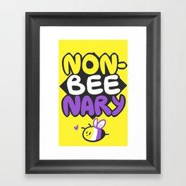 non-BEEnary Framed Art Print