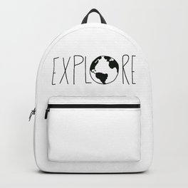 Explore the Globe x BW Backpack