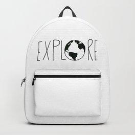 Explore the Globe x BW Backpack