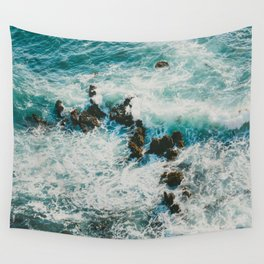 Palos Verdes Surf Wall Tapestry