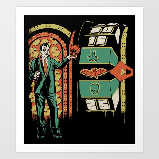 The Price is Fright Art Print