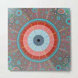 Fractory: Space Odyssey Series -The Big Eye Metal Print