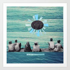 Time to Sail Art Print