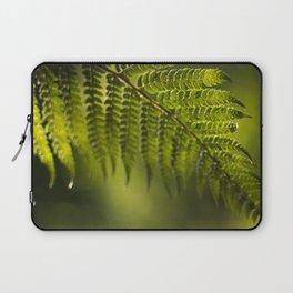 Green fern Laptop Sleeve