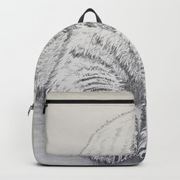 Polar Bear At Rest Backpack