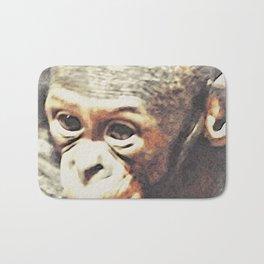 Animal ArtStudio 25416 Baby Chimp Bath Mat
