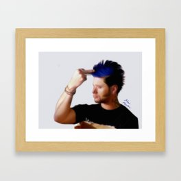 Ten Inch Hero Framed Art Print