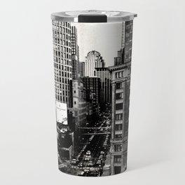 Boston, Massachusetts City Skyline Travel Mug