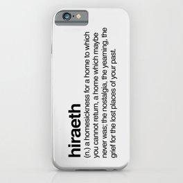 Hiraeth iPhone Case