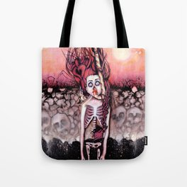 Partially Dreaming Tote Bag