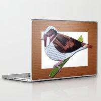 sparrow Laptop & iPad Skins featuring Sparrow by Ruud van Koningsbrugge