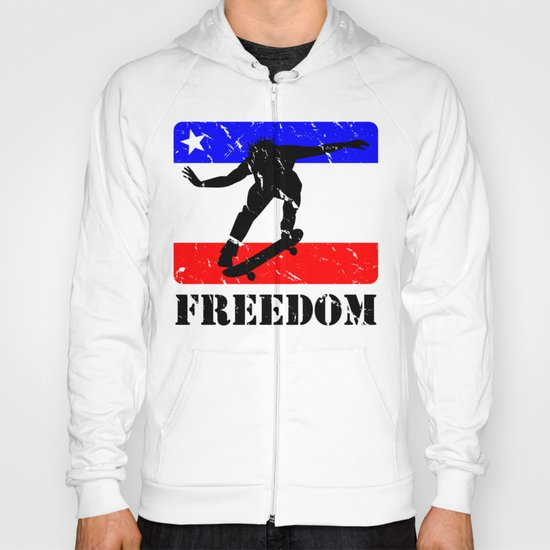 FREEDOM! Skateboarding Hoody