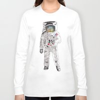 astronaut Long Sleeve T-shirts featuring Astronaut by James White
