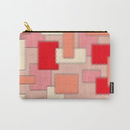 Peach Patches Carry-All Pouch