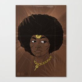 Emancipate yourself from Mental Slavery. Canvas Print